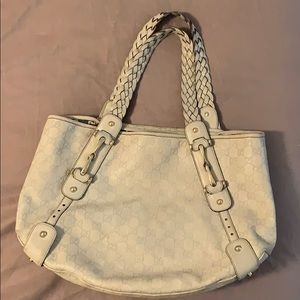 Gucci Dark White Guccisima